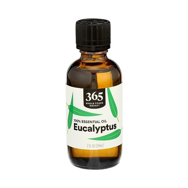 Aromatherapy 100% Essential Oil, Eucalyptus, 2 fl oz 1