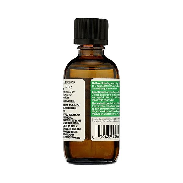 Aromatherapy 100% Essential Oil, Tea Tree, 2 fl oz 7