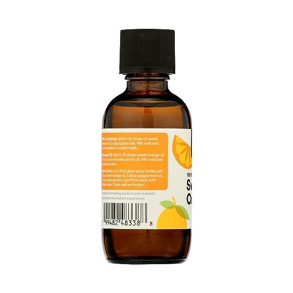 Aromatherapy 100% Essential Oil, Sweet Orange, 2 fl oz 5