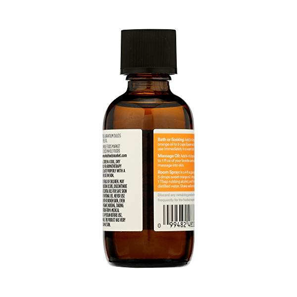 Aromatherapy 100% Essential Oil, Sweet Orange, 2 fl oz 7
