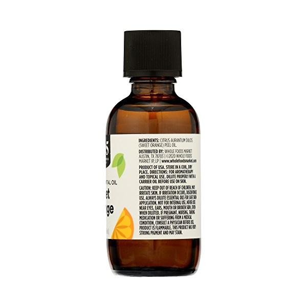 Aromatherapy 100% Essential Oil, Sweet Orange, 2 fl oz 8