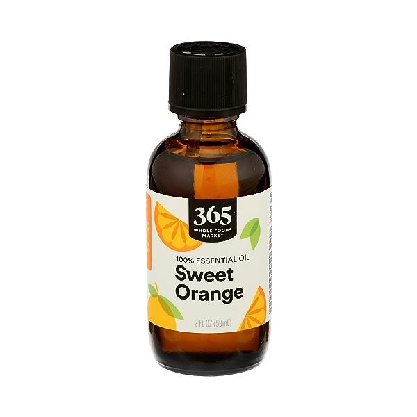 Aromatherapy 100% Essential Oil, Sweet Orange, 2 fl oz 1