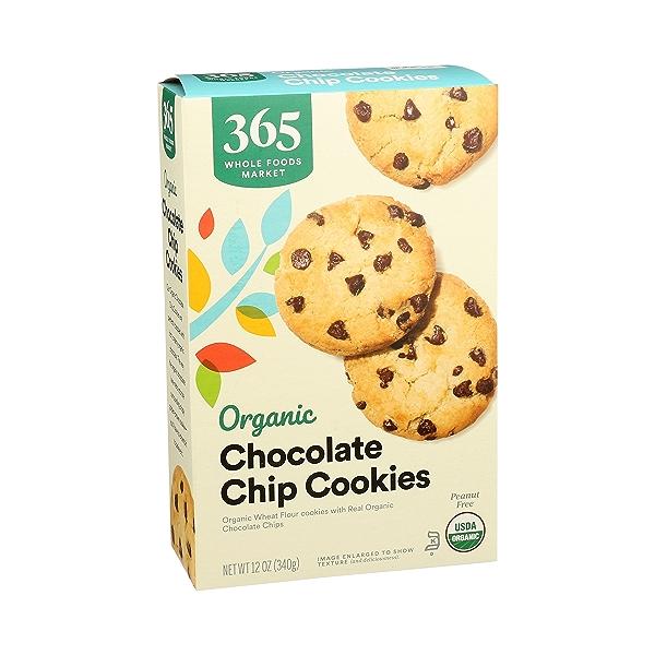 Organic Cookies, Chocolate Chip, 12 oz 2