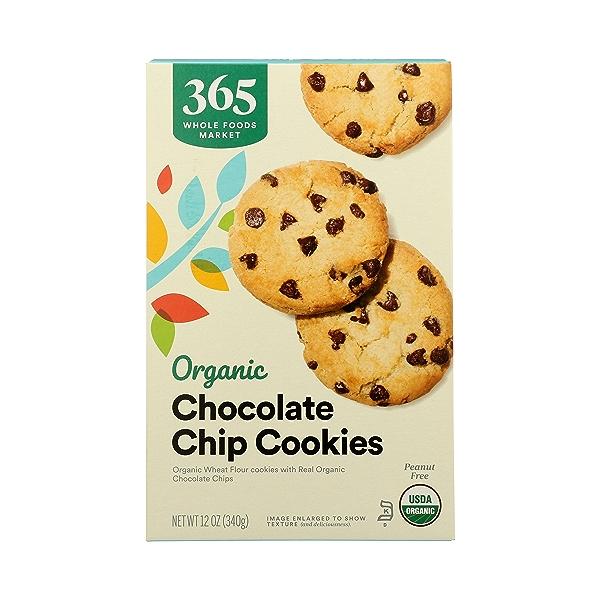 Organic Cookies, Chocolate Chip, 12 oz 3