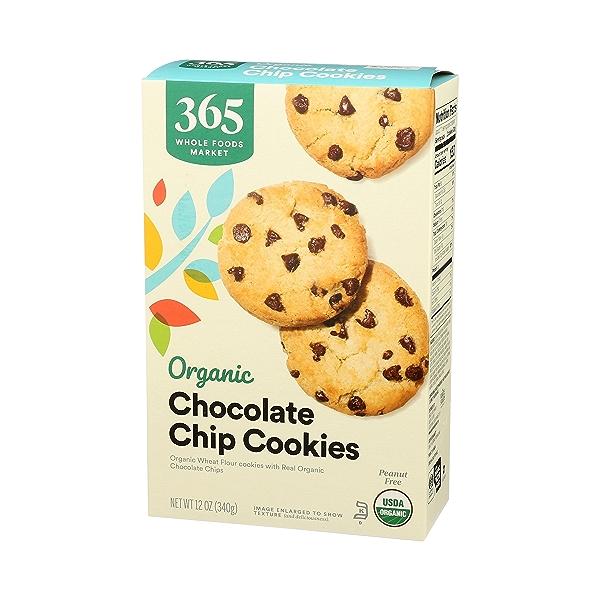 Organic Cookies, Chocolate Chip, 12 oz 4