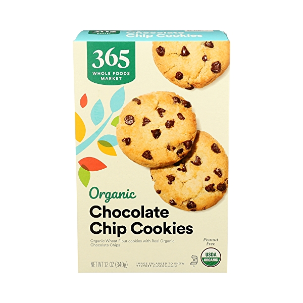 Organic Cookies, Chocolate Chip, 12 oz 1