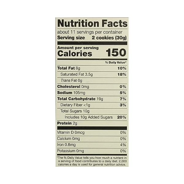 Organic Cookies, Chocolate Chip, 12 oz 10