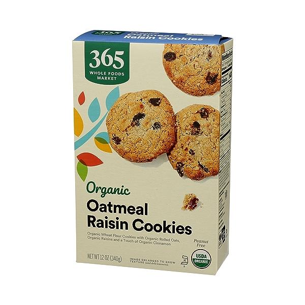 Organic Cookies, Oatmeal Raisin, 12 oz 4