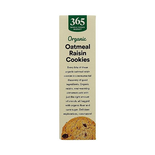 Organic Cookies, Oatmeal Raisin, 12 oz 5