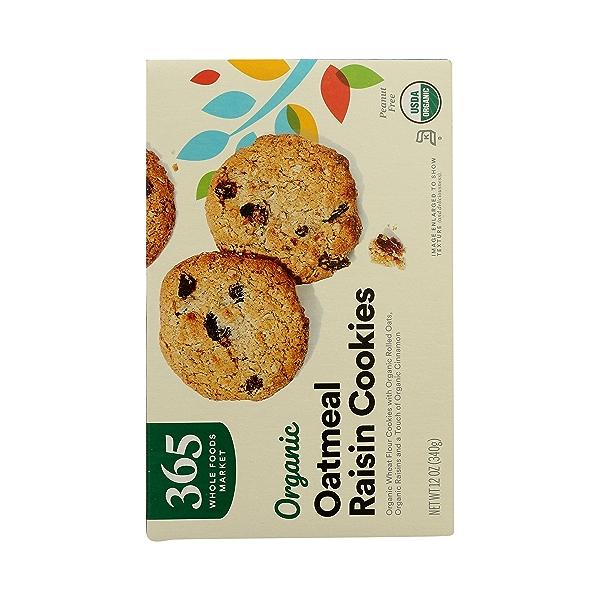 Organic Cookies, Oatmeal Raisin, 12 oz 7