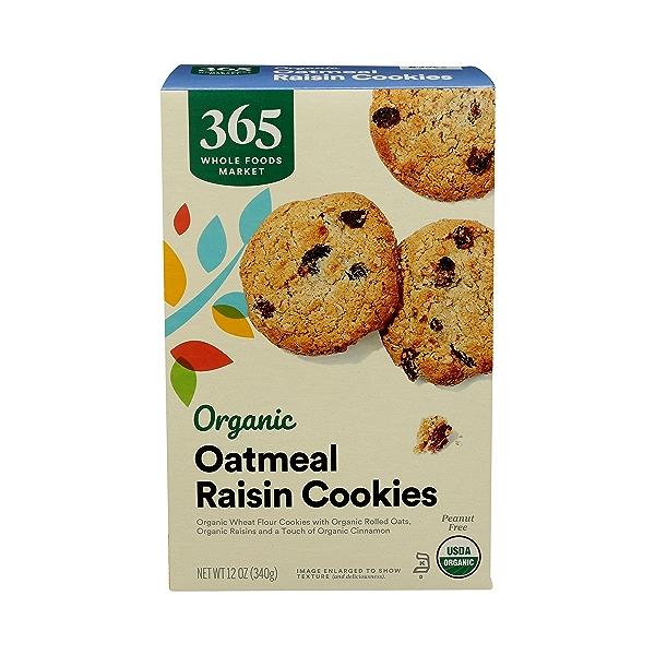 Organic Cookies, Oatmeal Raisin, 12 oz 1