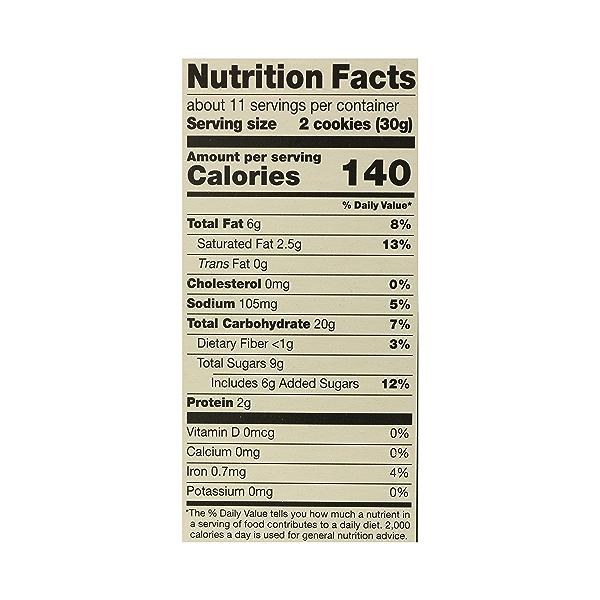 Organic Cookies, Oatmeal Raisin, 12 oz 10