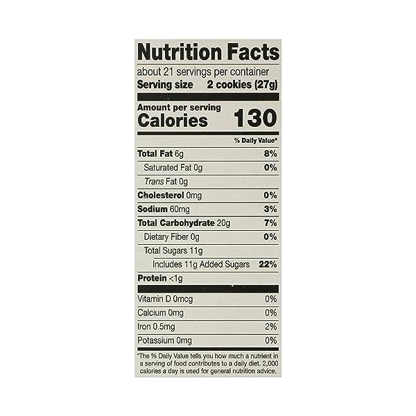 Cookies, Vanilla Sandwich Cremes, 20 oz 10