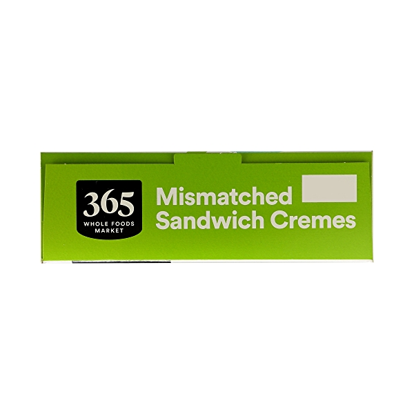 Cookies, Mismatched Sandwich Cremes (Chocolate & Vanilla Flavored), 20 oz 6