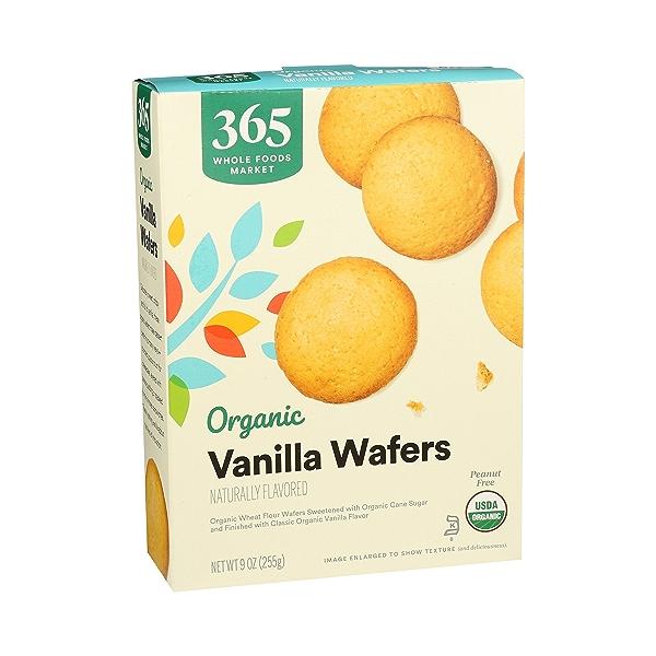 Organic Cookies, Vanilla Wafers, 9 oz 2