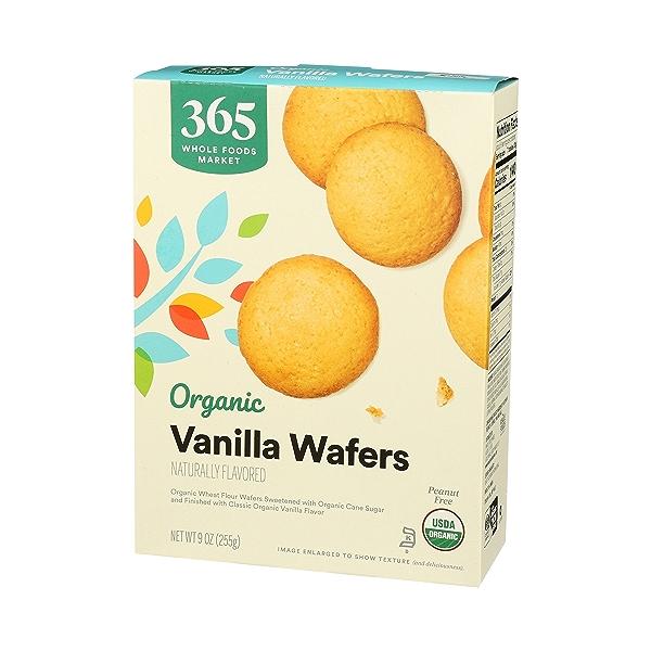 Organic Cookies, Vanilla Wafers, 9 oz 4