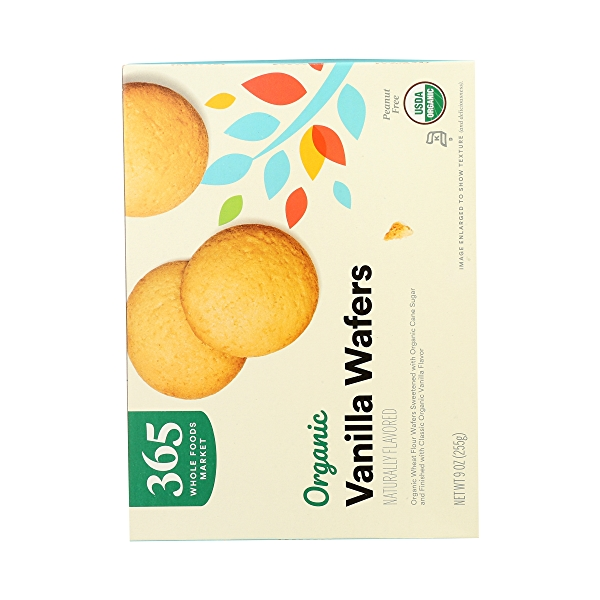 Organic Cookies, Vanilla Wafers, 9 oz 7