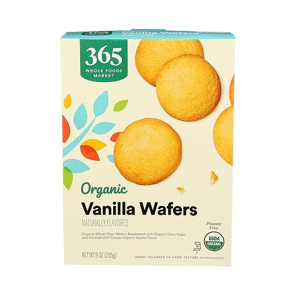 Organic Cookies, Vanilla Wafers, 9 oz 1