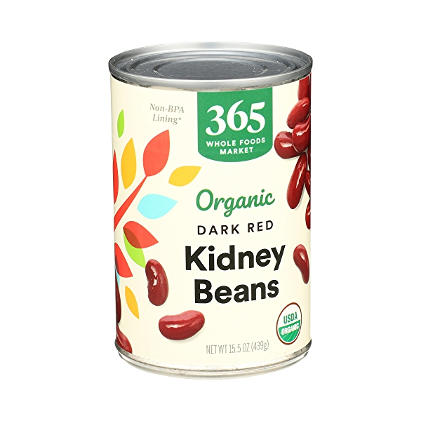 Organic Shelf-Stable Beans, Dark Red Kidney, 15.5 oz 2