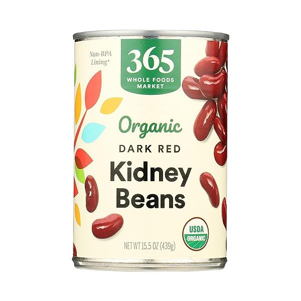 Organic Shelf-Stable Beans, Dark Red Kidney, 15.5 oz 3