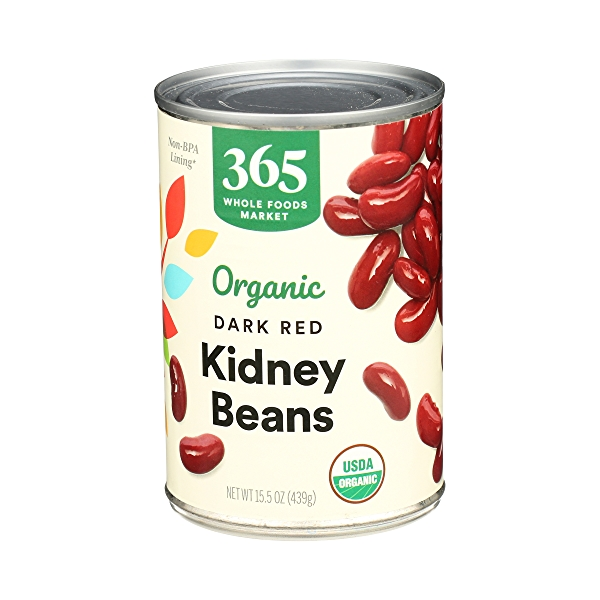 Organic Shelf-Stable Beans, Dark Red Kidney, 15.5 oz 4