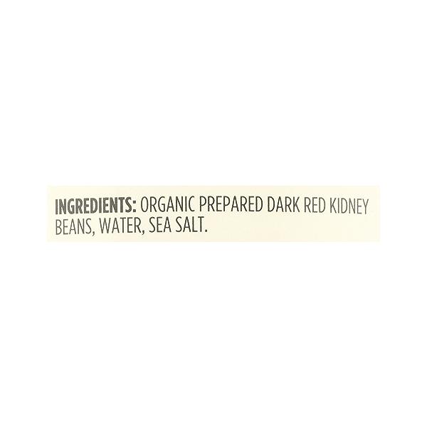 Organic Shelf-Stable Beans, Dark Red Kidney, 15.5 oz 12