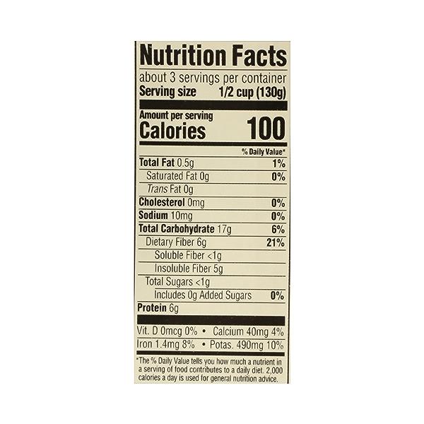 Organic Shelf-Stable Beans, Black - No Salt Added, 13.4 oz 10