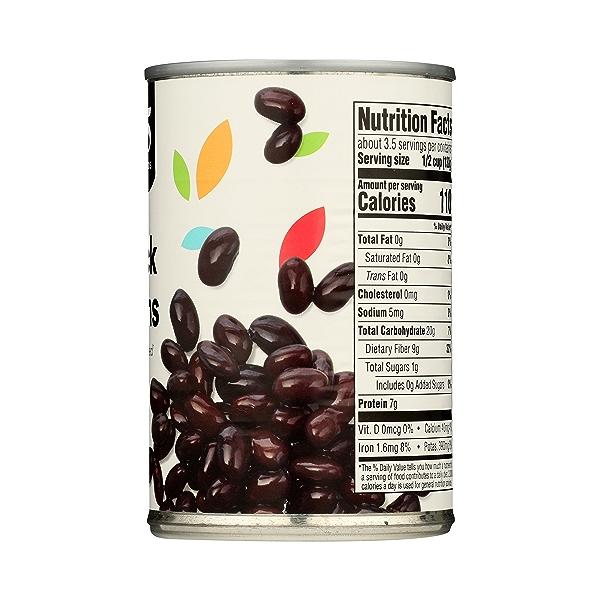 Shelf-Stable Beans, Black - No Salt Added, 15 oz 8