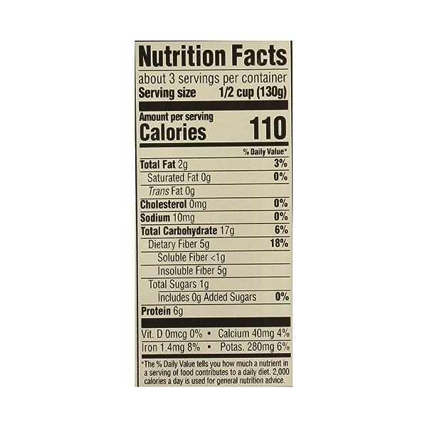 Organic Shelf-Stable Beans, Garbanzo - No Salt Added, 13.4 oz 10