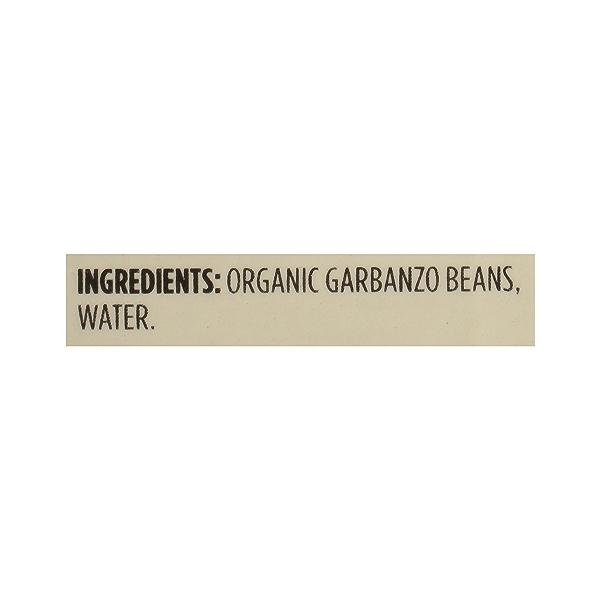 Organic Shelf-Stable Beans, Garbanzo - No Salt Added, 13.4 oz 12