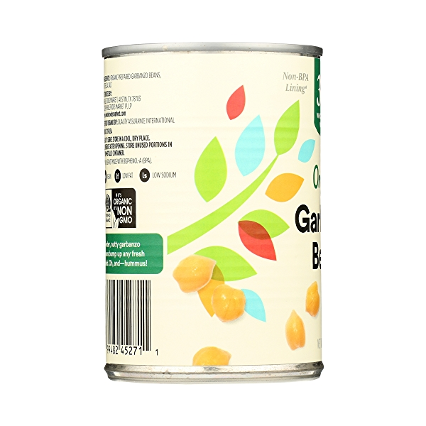 Organic Shelf-Stable Beans, Garbanzo, 15.5 oz 5