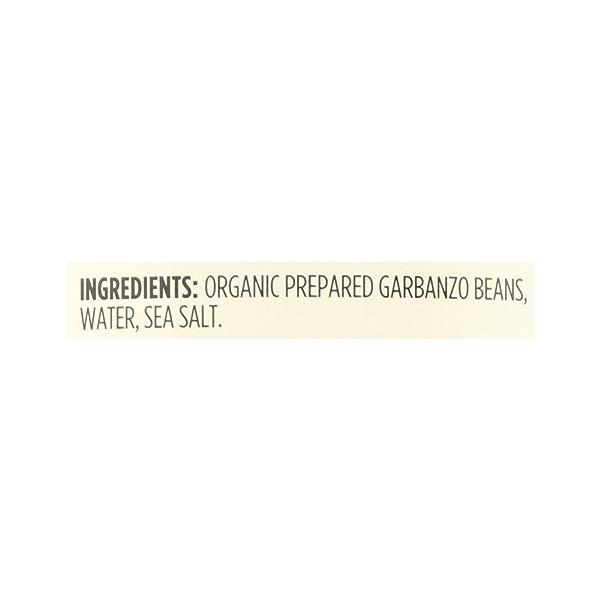 Organic Shelf-Stable Beans, Garbanzo, 15.5 oz 12