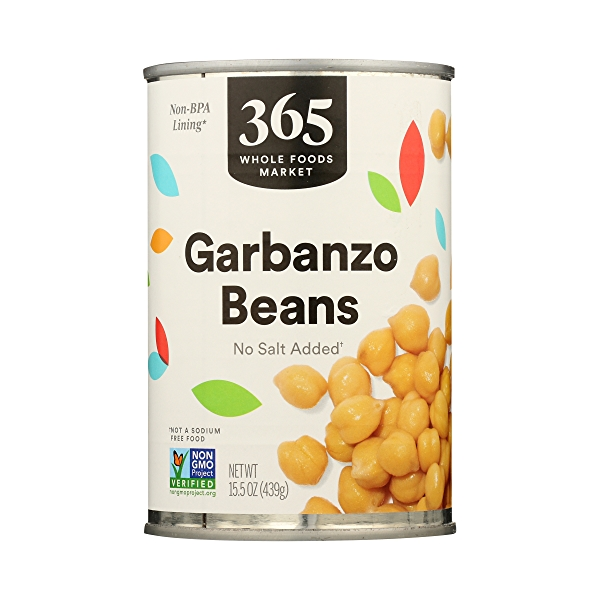 Shelf-Stable Beans, Garbanzo - No Salt Added, 15.5 oz 3