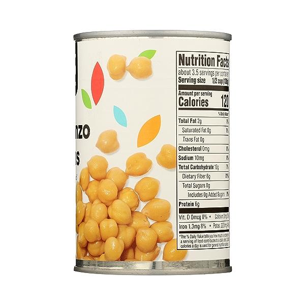 Shelf-Stable Beans, Garbanzo - No Salt Added, 15.5 oz 8