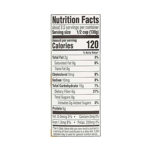 Shelf-Stable Beans, Garbanzo - No Salt Added, 15.5 oz 10