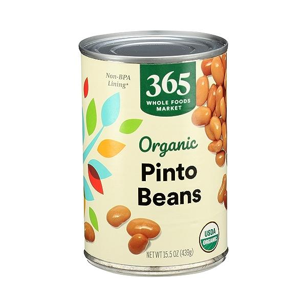 Organic Shelf-Stable Beans, Pinto, 15.5 oz 2