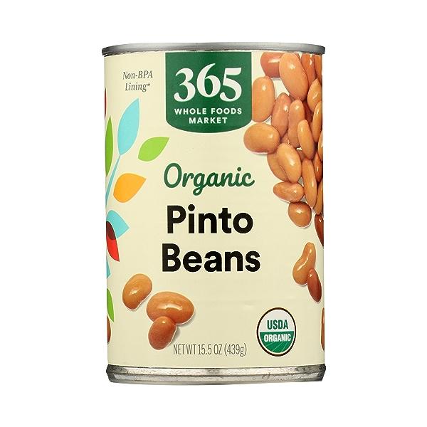 Organic Shelf-Stable Beans, Pinto, 15.5 oz 3