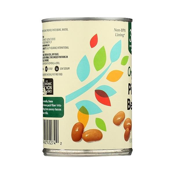 Organic Shelf-Stable Beans, Pinto, 15.5 oz 5