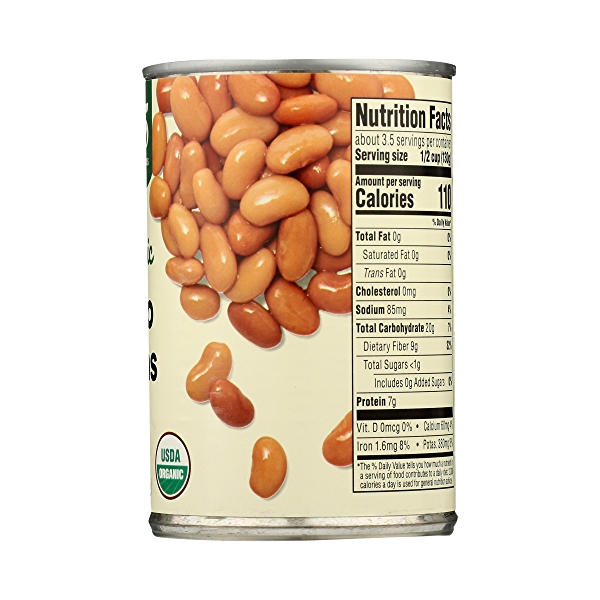 Organic Shelf-Stable Beans, Pinto, 15.5 oz 8