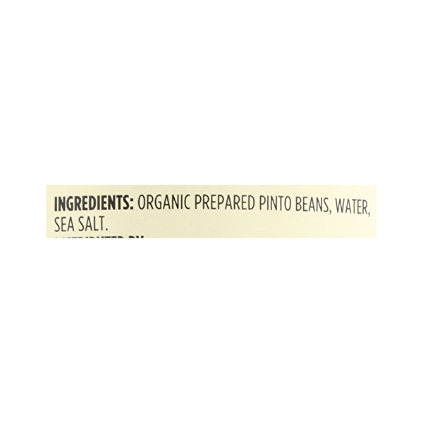 Organic Shelf-Stable Beans, Pinto, 15.5 oz 12