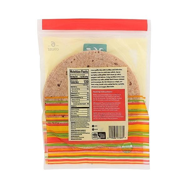 Organic Tortillas, Whole Wheat (6 Tortillas), 10.5 oz 7