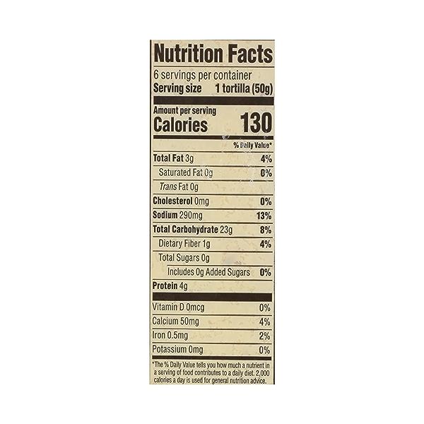 Organic Tortillas, Flour & Corn (6 Tortillas), 10.5 oz 10