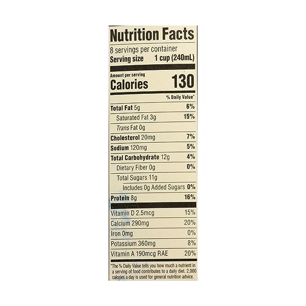 Organic Grade A Milk, Reduced Fat, 64 fl oz 10