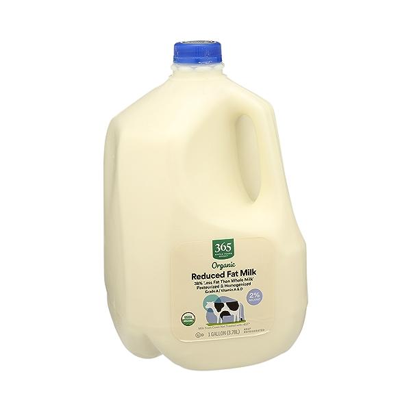 Organic Grade A Milk, Reduced Fat, 1 gallon 2
