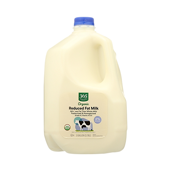 Organic Grade A Milk, Reduced Fat, 1 gallon 3