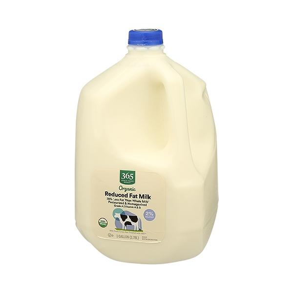 Organic Grade A Milk, Reduced Fat, 1 gallon 4