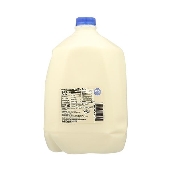 Organic Grade A Milk, Reduced Fat, 1 gallon 7