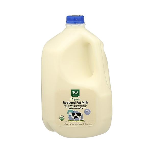 Organic Grade A Milk, Reduced Fat, 1 gallon 1