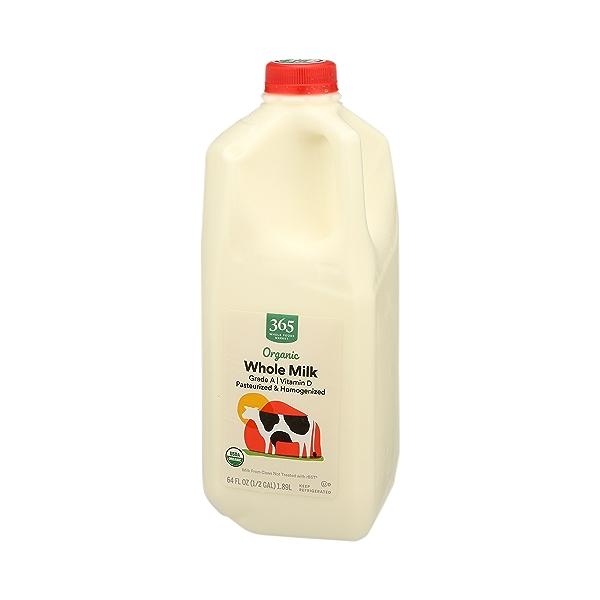 Organic Grade A Milk, Whole, 64 fl oz 4