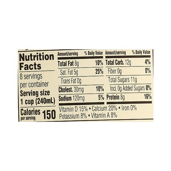 Organic Grade A Milk, Whole, 64 fl oz 10